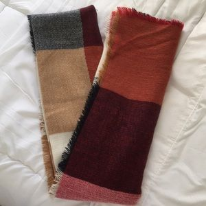 Accessories - Fall Multicolor Blanket Scarf 🧣